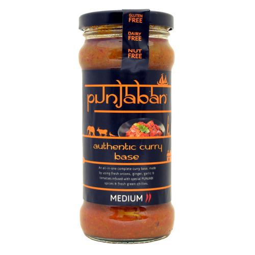 Punjaban GF - Authentic Curry Base 'Medium' (6x350g)