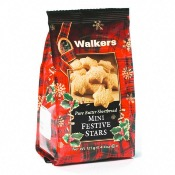 Walkers - Mini Festive Stars 'Grab Bag' (12x125g)