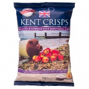 Kent Crisps GF Small - Sea Salt & Cider Vinegar (20x40g)