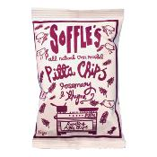 SOFFLE'S - Pitta Chips 'Rosemary & Thyme' (9x165g)