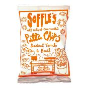 SOFFLE'S - Pitta Chips 'Sundried Tomato & Basil' (9x165g)
