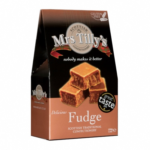 Mrs Tilly's GF - Traditional Fudge (6x150g)