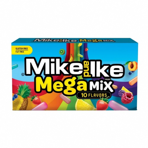 Mike & Ike - Mega Mix Theatre Box (12x141g)