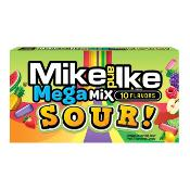 Mike & Ike - Mega Mix 'Sour' Theatre Box (12x141g)