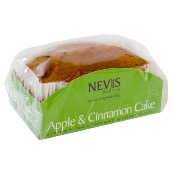 Nevis Bakery - Apple & Cinnamon Cake (12's)