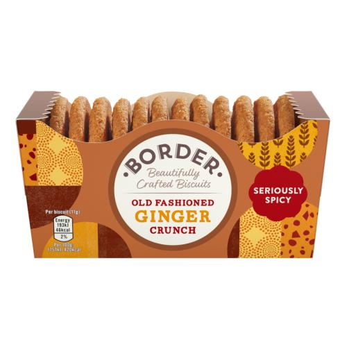 Border - Old Fashioned Ginger Crunch (6x150g)