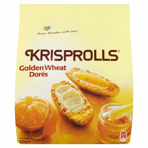 Pagen - Golden Krisprolls (5x225g)
