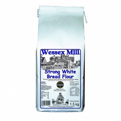 Wessex Mill Flour - Strong White Bread (5x1.5kg)