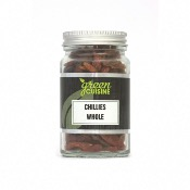 Green Cuisine 'Jars' - Chillies Whole (6x25g)