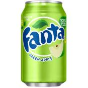 Fanta U.S. - Green Apple Soda (24x355ml)