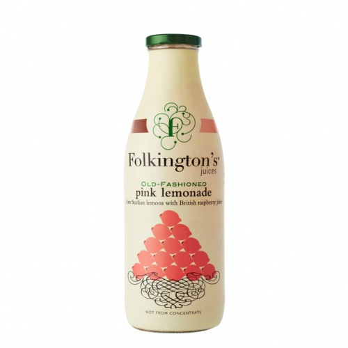 Folkington's - Old Fashioned Pink Lemonade (6x1ltr)