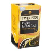 Twinings Tea Bags - 'English Breakfast' (4x50's)