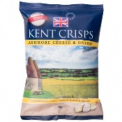 Kent Crisps GF Small - Ashmore Cheese & Onion (20x40g)