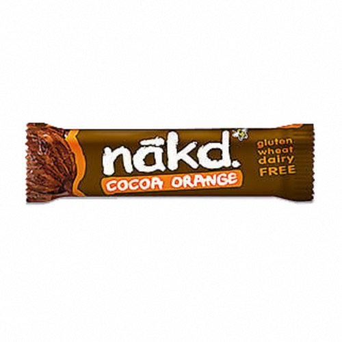 Nakd - GF Bars 'Cocoa Orange' (18x35g)
