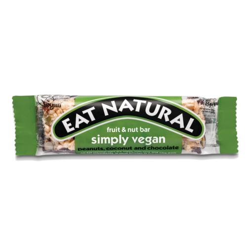 Eat Natural - GF 'Simply Vegan' Fruit & Nut (12x45g)