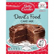 Betty Crocker - Devils Food Cake Mix (6x425g)