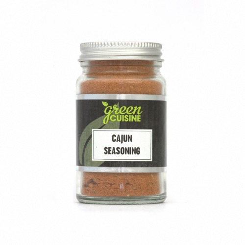 Green Cuisine 'Jars' - Cajun Seasoning (6x50g)
