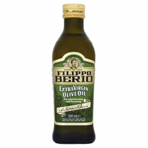 Filippo Berio - Extra Virgin Olive Oil (6x500ml)