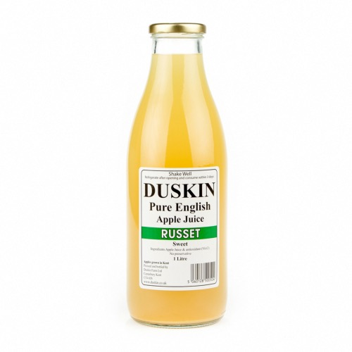 Duskin Russet Apple Juice - Sweet (6x1ltr)