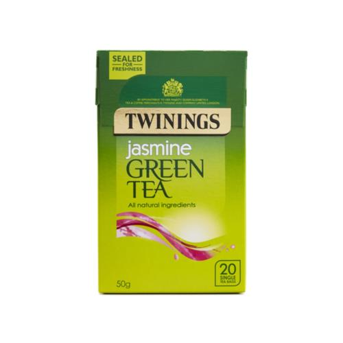 Twinings - Green Tea Jasmine (4x20's)