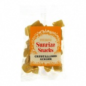 Sunrize Snacks Crystallised Ginger (12x150g)