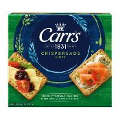 Carr's - 'Crispbreads' Chive (6x190g)