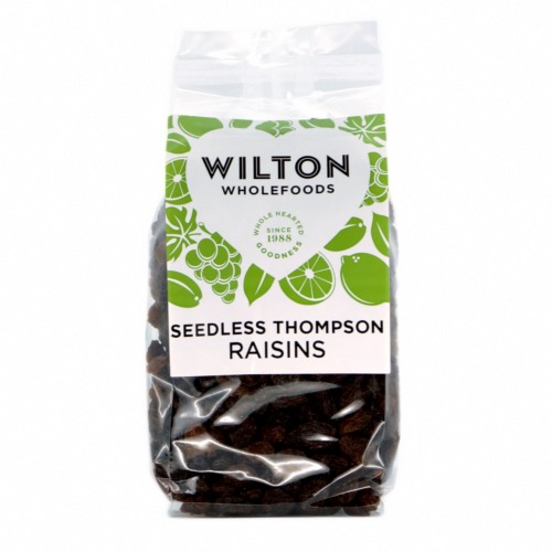 Wilton Wholefoods - Thompson Raisins (12x375g)
