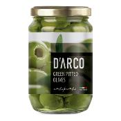 D'ARCO - Pitted Green 'Nocellara' Olives (6x300g)