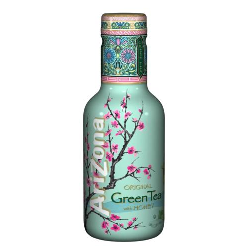 AriZona Original Green Tea with Honey (6x500ml)