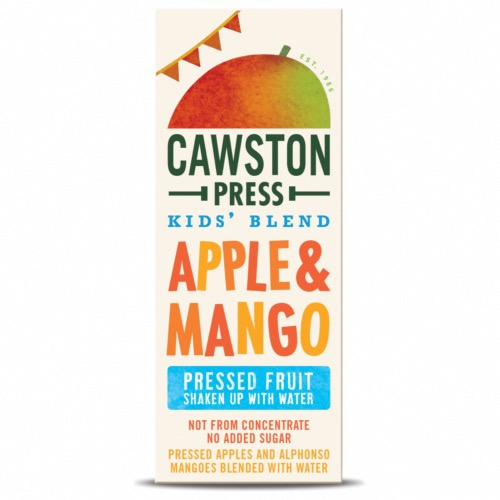 Cawston Press - Kids Blend Apple & Mango (6x3x200ml)