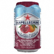 San Pellegrino - Sparkling Pomegranate & Orange (24x330ml)