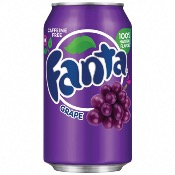 Fanta U.S. - Grape Soda (24x355ml)