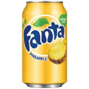 Fanta U.S. - Pineapple Soda (24x355ml)