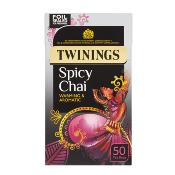 Twinings Tea Bags - 'Spicy Chai' (4x50's)