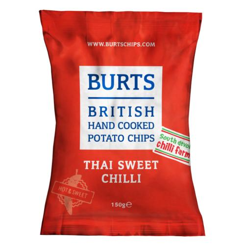 Burts GF LARGE - Thai Sweet Chilli (10x150g)