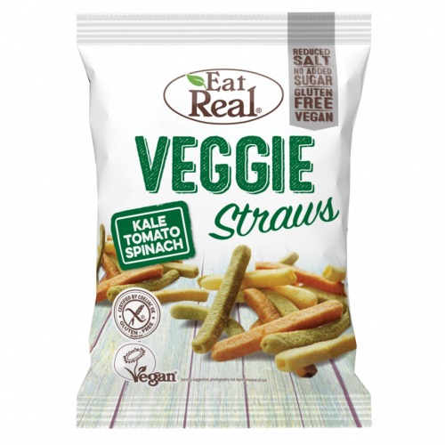 Eat Real GF - SMALL Veggie Straws (12x45g)