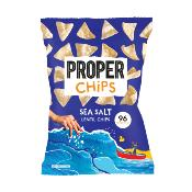 PROPERCHIPS - GF Sea Salt Lentil Chips (8x85g)