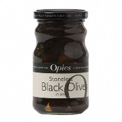 Opies - Stoneless Black Olives (6x227g)