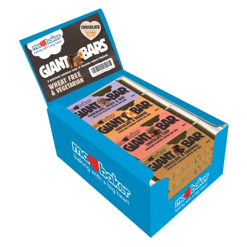 Ma Baker - Giant CHOCOLATE Smoothie Bars (20x90g)
