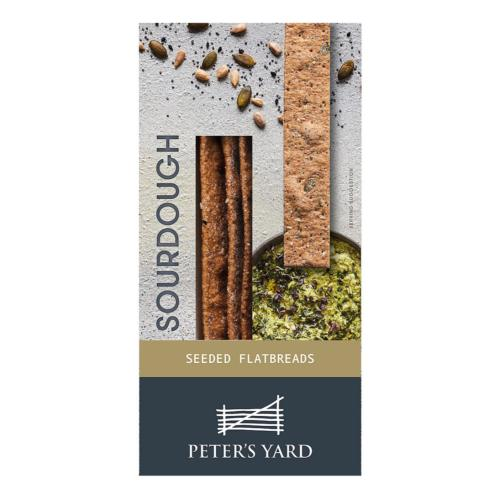 Peter's Yard - Sourdough Flatbreads 'Seeded' (6x135g)