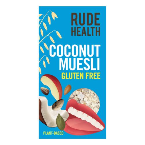 Rude Health - GF Coconut Muesli (6x400g)