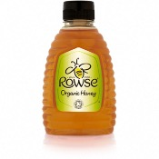 Rowse - 'Squeezy' Honey Organic (6x340g)