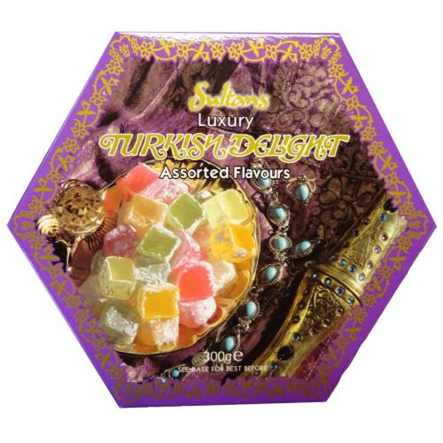 Sultans - Luxury Assorted Turkish Delight (6x300g)