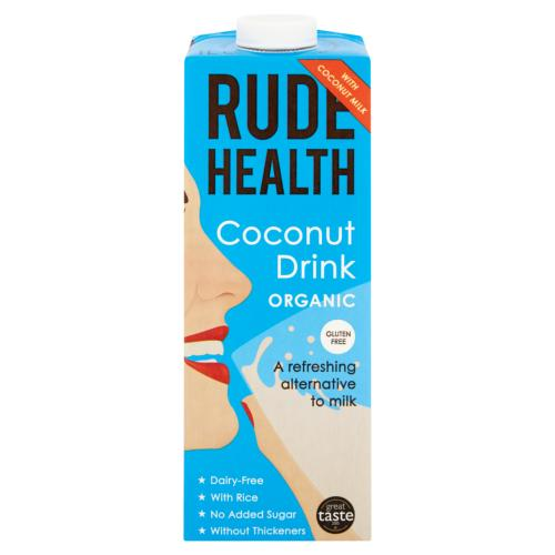 Rude Health - Organic Coconut Drink (6x1ltr)