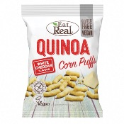 Eat Real GF - Quinoa Puffs White Cheddar (12x113g)