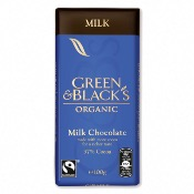 Green & Black's Organic Milk Chocolate Bar (15x100g)