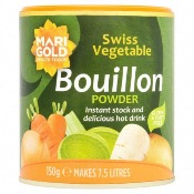 Marigold - GF Swiss Vegetable Bouillon 'Green' (6x150g)