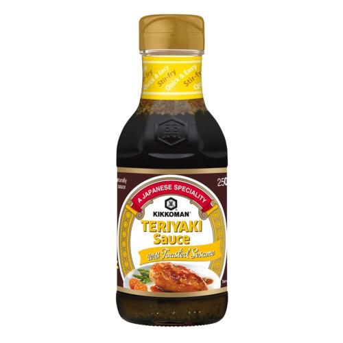 Kikkoman - Teriyaki Sauce with Toasted Sesame (6x250ml)