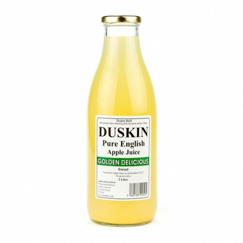 Duskin Golden Delicious Apple Juice - Sweet (6x1ltr)