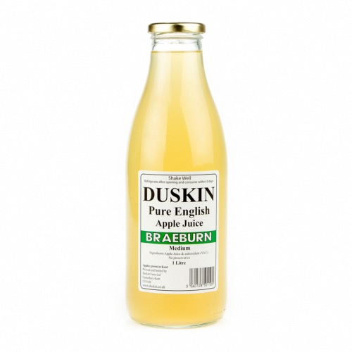 Duskin Braeburn Apple Juice - Medium (6x1ltr)